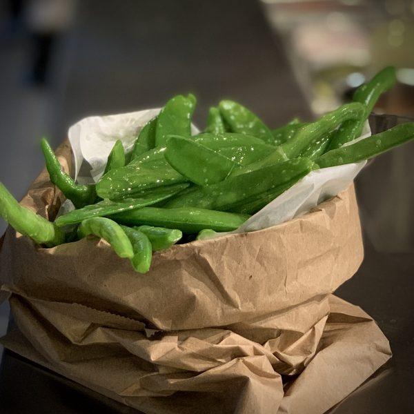Miznon | Bag of Green Beans