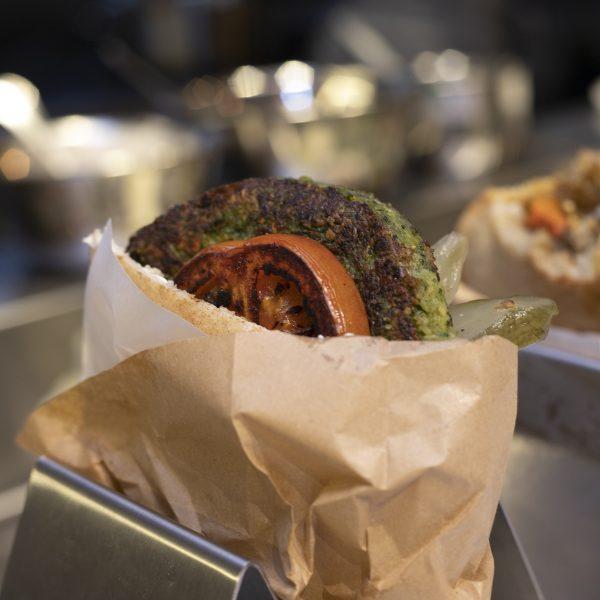 Miznon | Falafel Burger